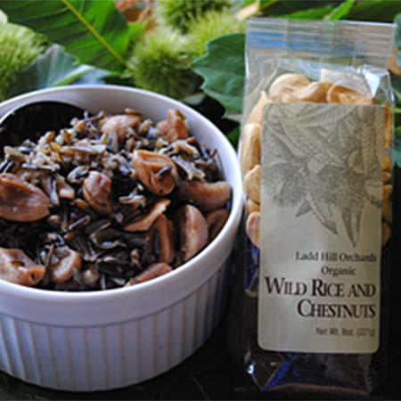 Wild Rice and Chestnuts 8oz